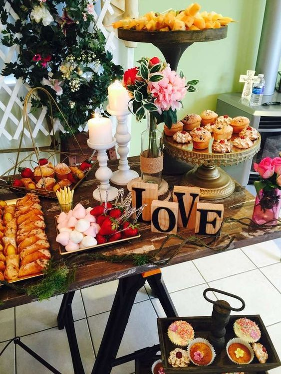 Be ready to take the whole party indoors in case of rain use same also creative rustic bridal shower ideas wedding inspiration tea rh pinterest