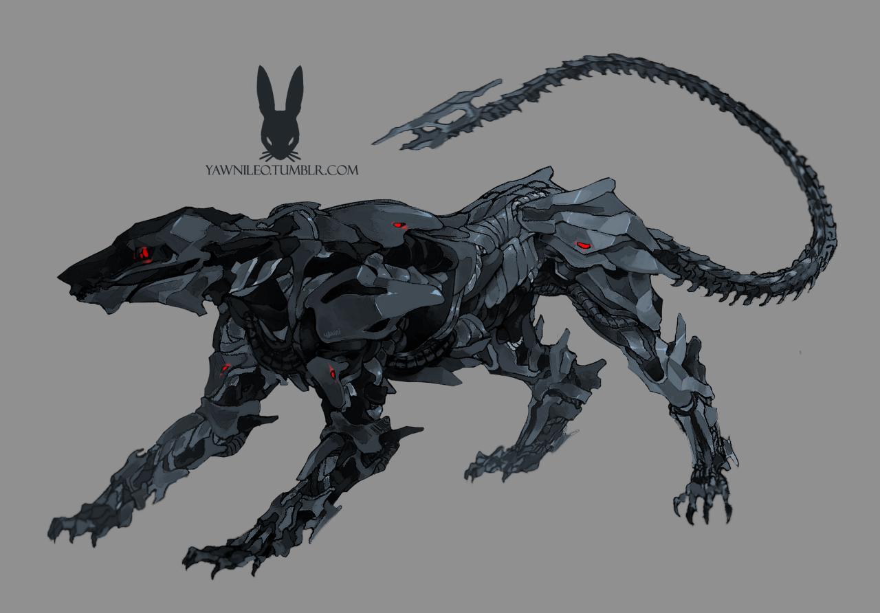 Deviantart Robot Animals: Robot, Animal