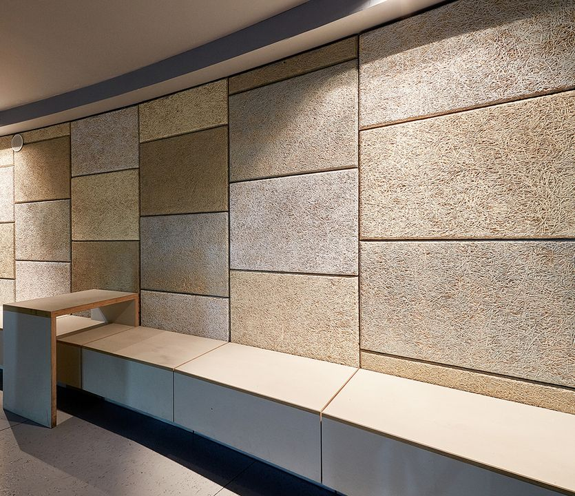 Acoustic Panel Accent Wall Media Room: Gallery Of Wood-Fiber Acoustic Panels