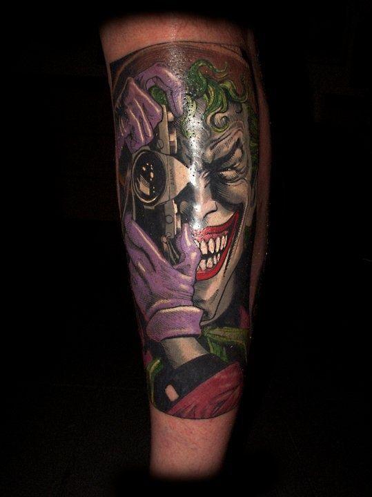 Tattoo joker design