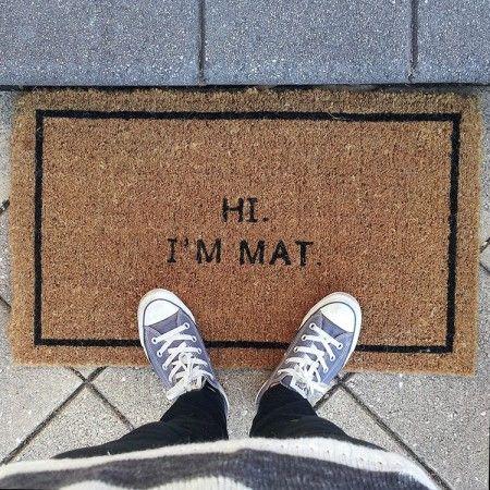 Door Mats And Place Mats Pretty Cool Door Mat Mats Cool Doors