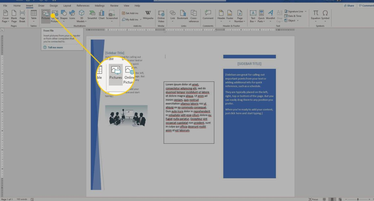 How To Make A Brochure On Microsoft Word Inside Ms Word Brochure Template How To Make Brochure Booklet Template Brochure Template - ms word pamphlet template