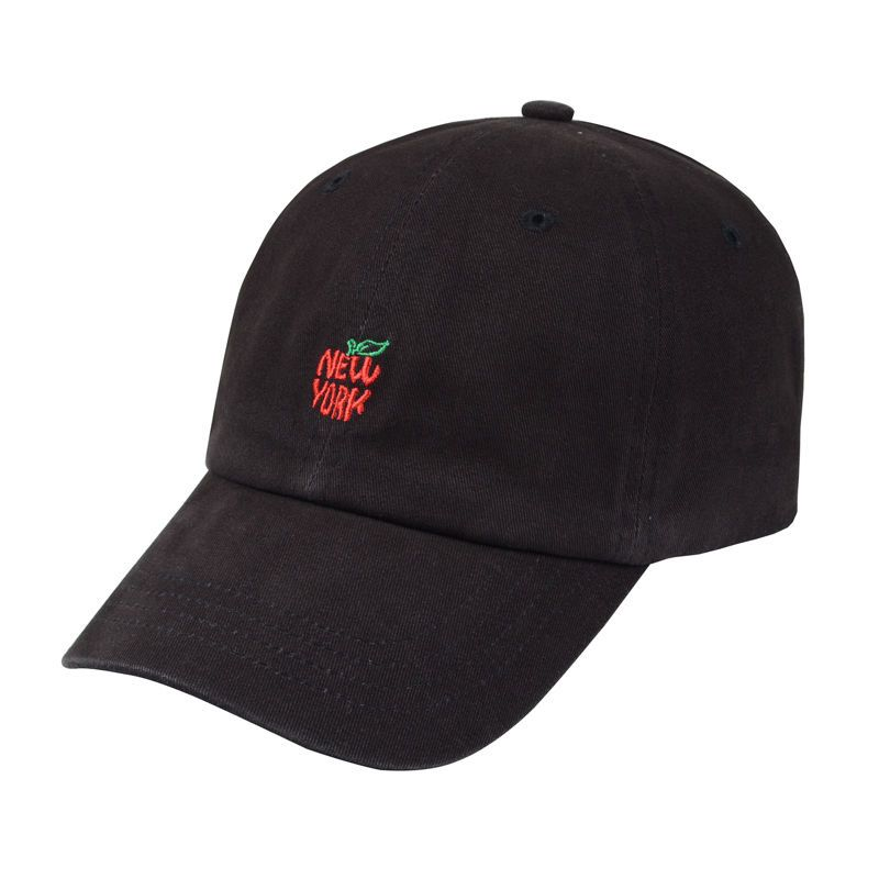 63971f6e75864 Floppy New York Apple Embroidered 100% Cotton Washed Dad Hat Polo Baseball  Cap  Hatphile  BaseballCap