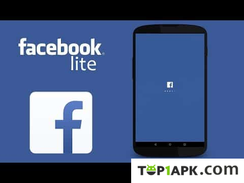 Top1apk give you free Facebook Lite apk to download onto