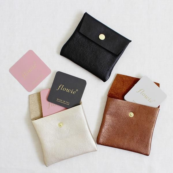 Small leather pouch gold bronze black pinterest leather our small leather pouches are perfect for holding business cards especially oversized or square cards reheart Images