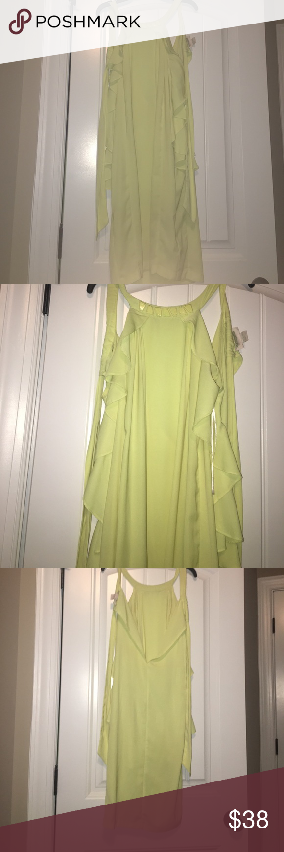 H&M Conscious Collection Vanessa Paradis   D, H m dress and Yellow ...