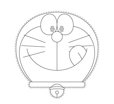 Careta Doraemon  A DIBUJAR  Pinterest  Oficial Decoracion