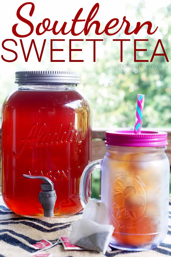 Southern Sweet Iced Tea Recipe | Recipes | Dinner Ideas ...