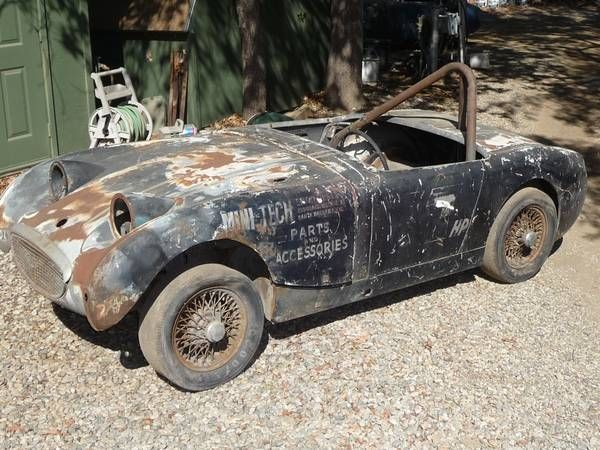 Projectf Cars Racing Austin Healey Bugeye Sprites From The 60s