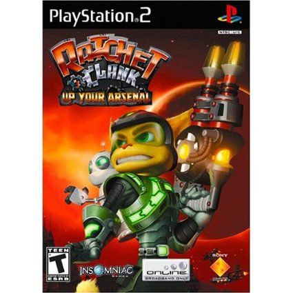 Ratchet And Clank Up Your Arsenal Ps2 Cover Art Google Search