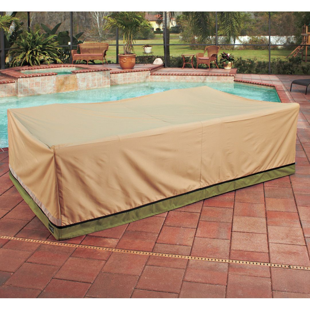Sure Fit Patio Armor Signature Series Chat Set Table Cover