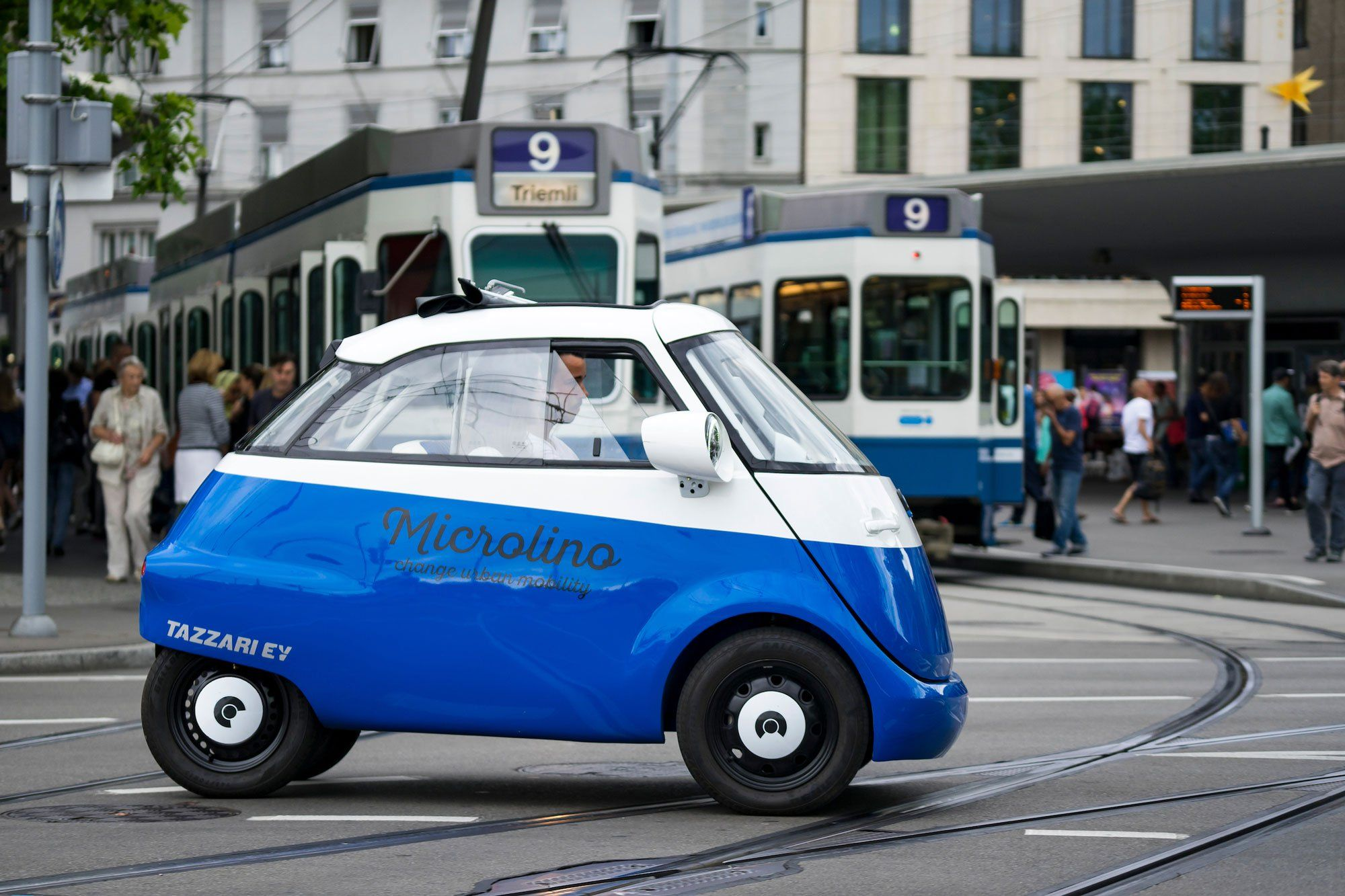 The Microlino EV Car | Smart sustainable city