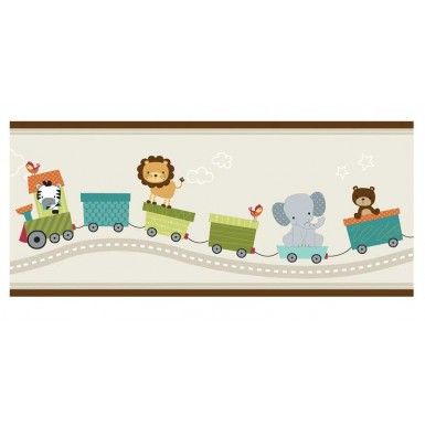 Bedtime Originals Choo Choo Collection Wallpaper Border