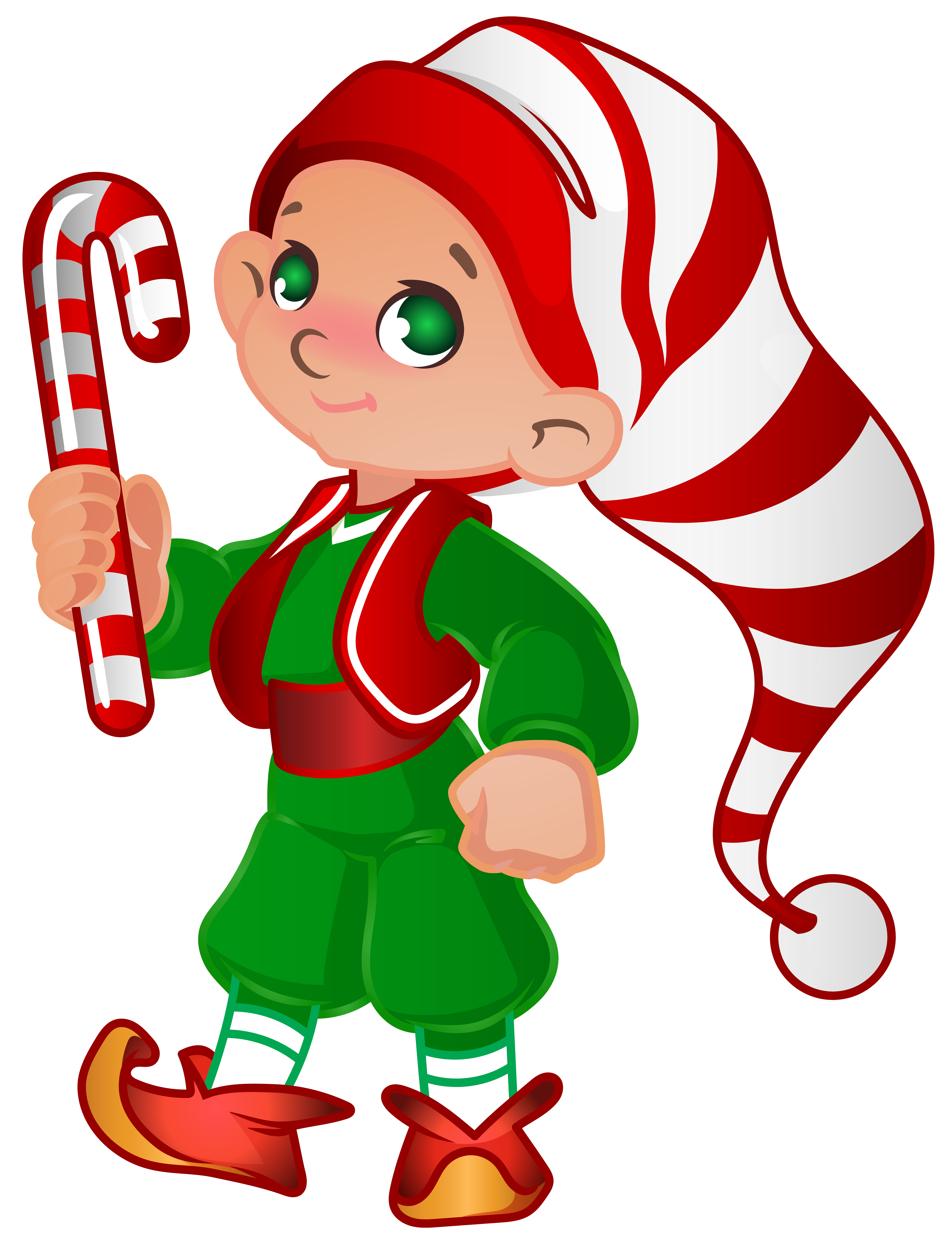 Elf Santa Helper Transparent PNG Clip Art Image Gallery