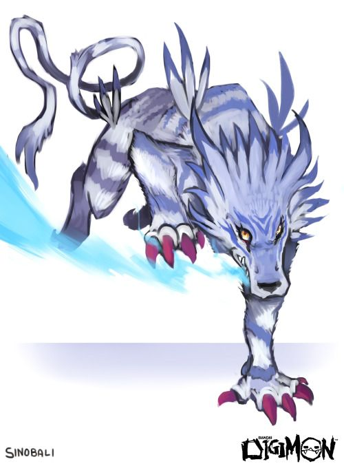 Garurumon Quick Daily Digimon Sketch Day 09 More Digimon Back At My Page Digimon Tattoo Digimon Digital Monsters Digimon