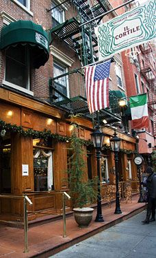 Favorite Little Italy Dining Spot While In Nyc Food And Drink In
