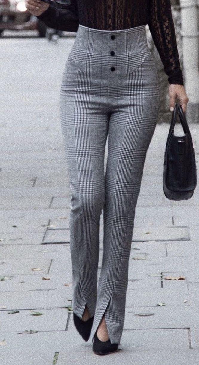 Pantalones Pantalones De Vestir Mujer Pantalones De Moda Pantalones De Moda Mujer
