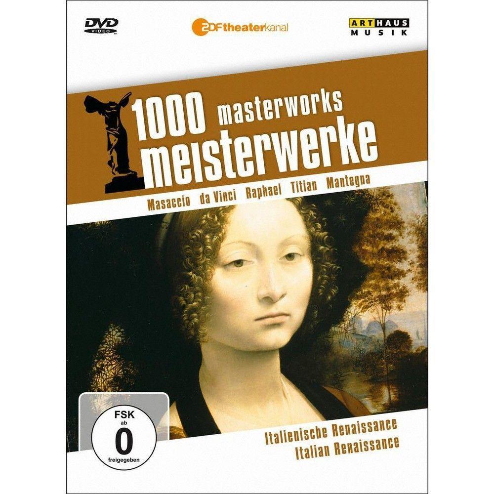 1000 Masterworks: Italian Renaissance (dvd_video)