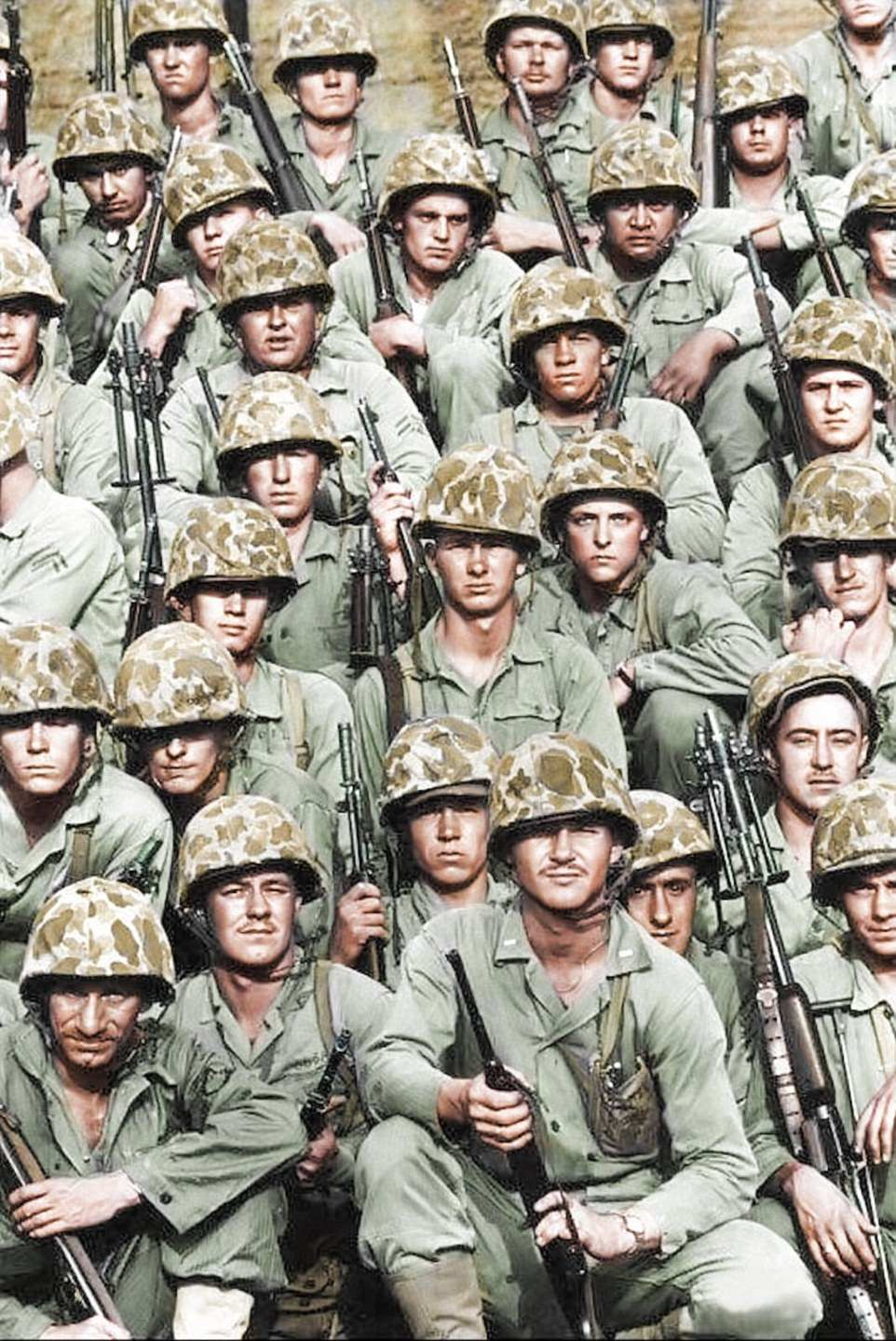 Extraordinary colorized pictures bring to the Korean War