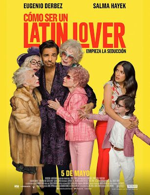 Latin lover casanova action sexy back