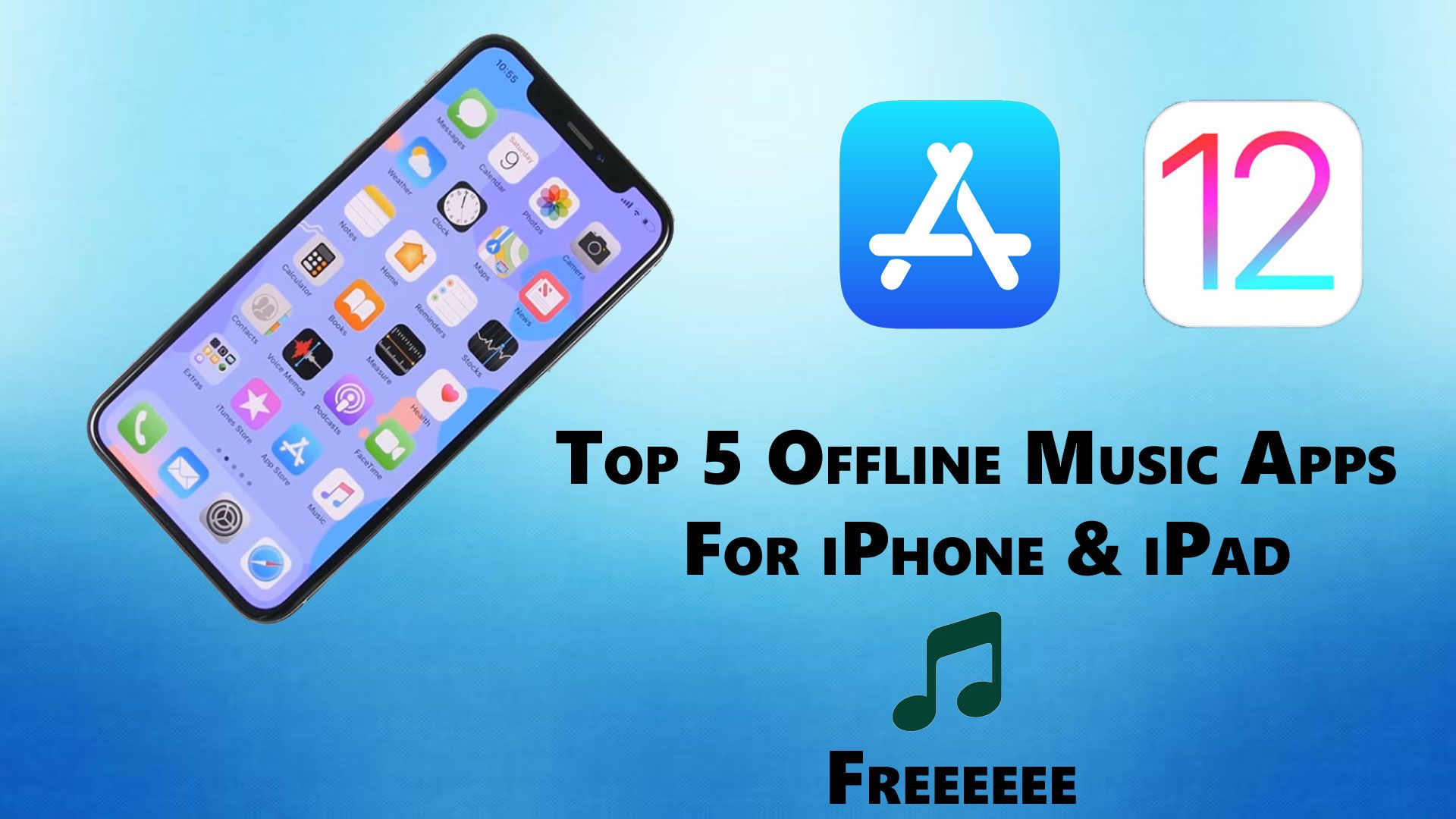 Top 5 offline music apps for iPhone & iPad Download them Now