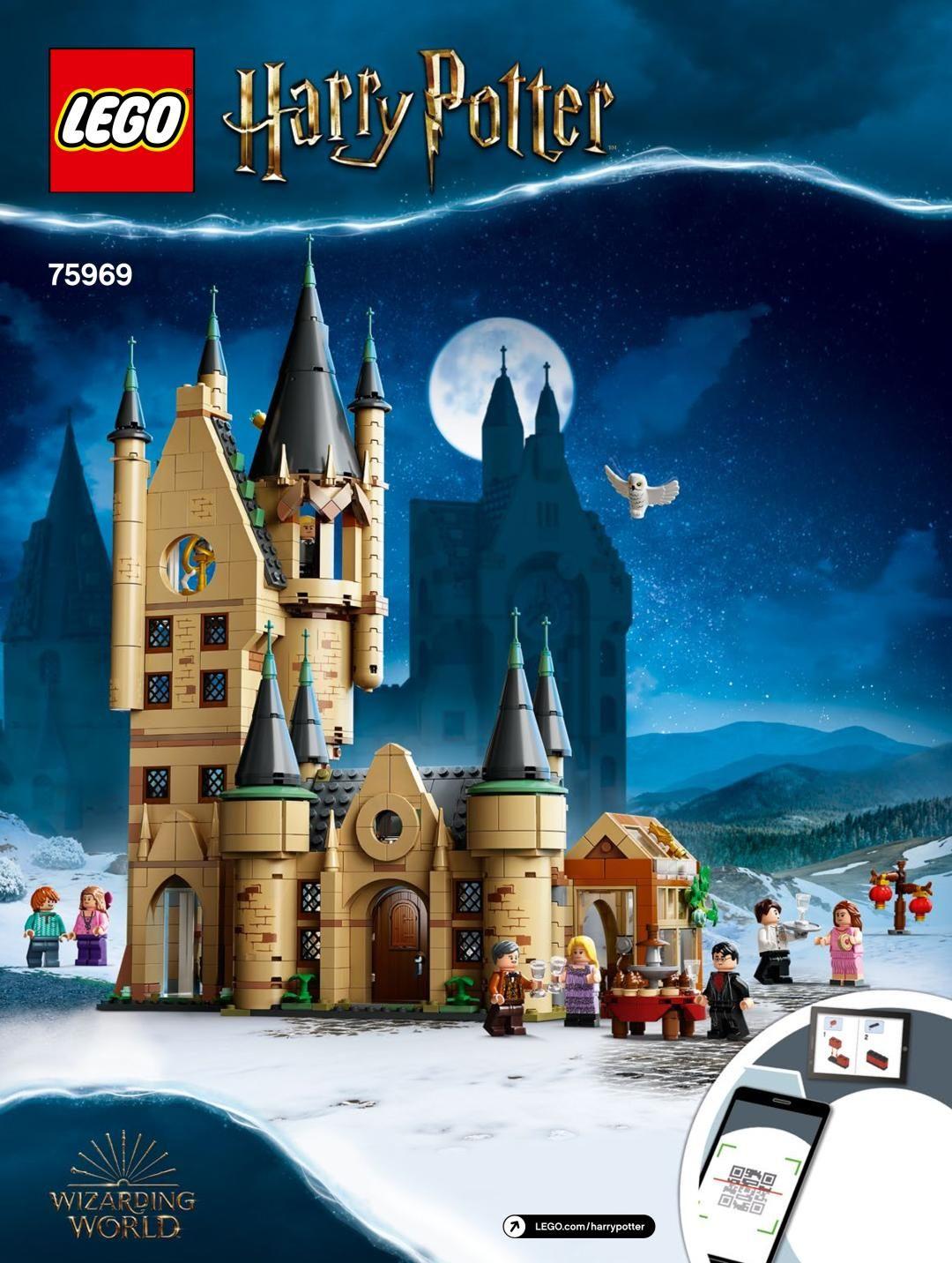 Building Instructions Instructions De Montage Lego 75969 La Tour D Astronomie De Poudlard Lego Astronomy Lego Harry Potter