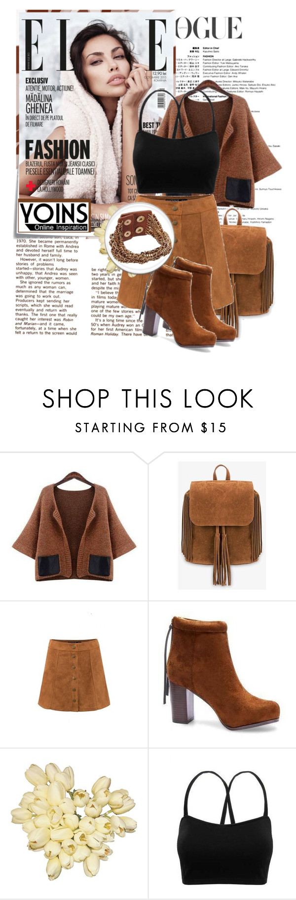 """YOINS 25"" by barbara-996 ❤ liked on Polyvore featuring Post-It, vintage, women's clothing, women's fashion, women, female, woman, misses, juniors and yoins"