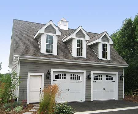 Plan 2226sl Two Car Garage With Loft Carriage House