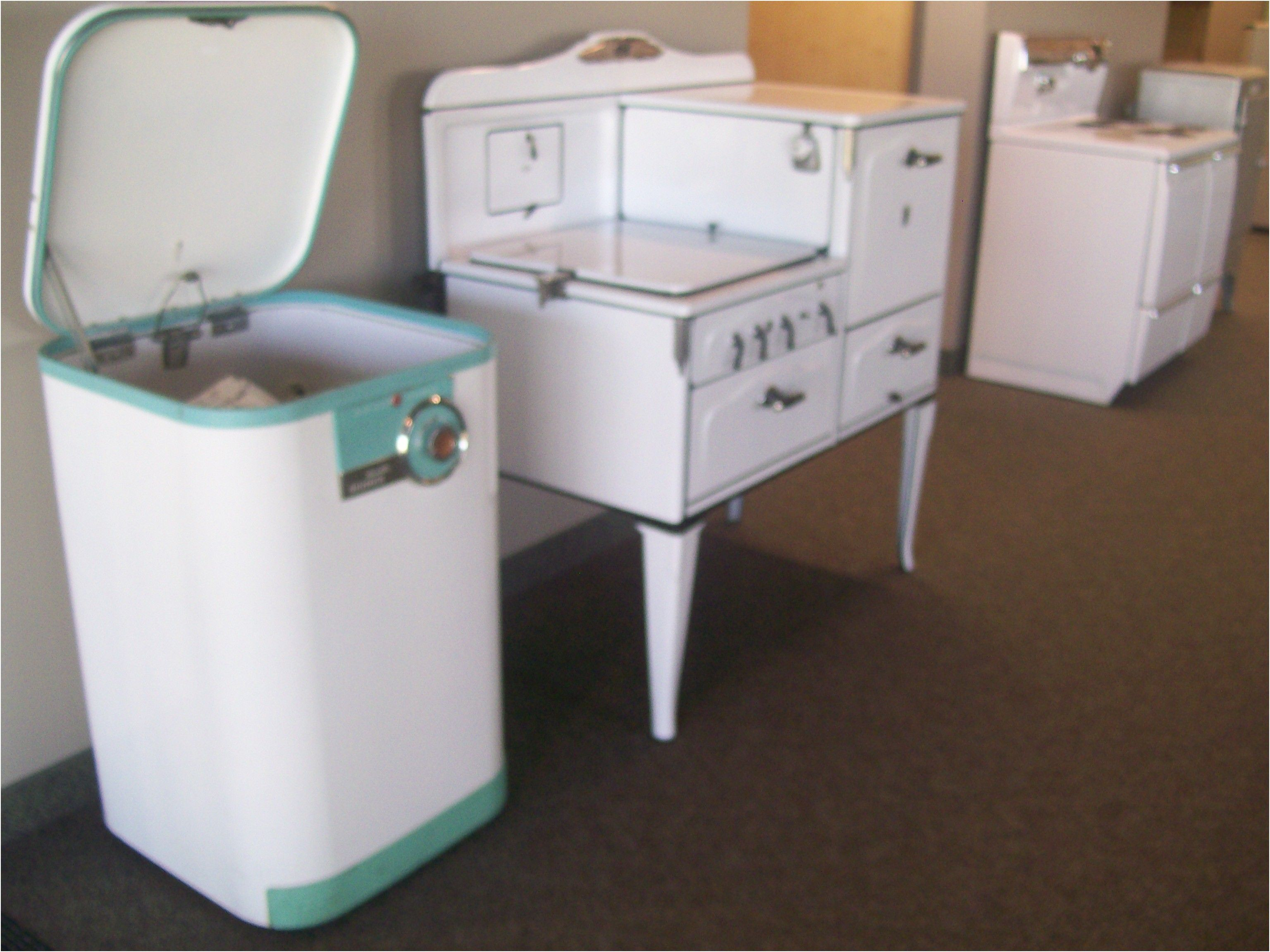 vintage icebox images more vintage appliances in the guest area from ...