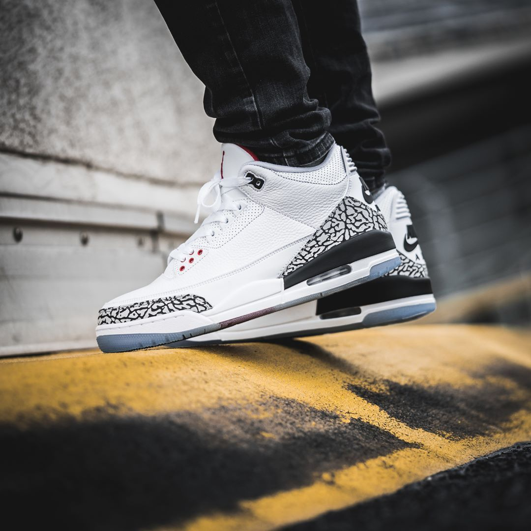 competitive price 965e4 d8239 Release Date   February 14, 2018 Air Jordan 3 « Free Throw Line » Credit    Solebox