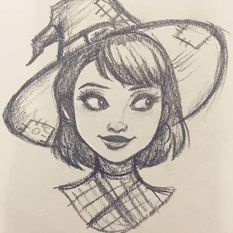 Photo of Little messy sketch thing. Maybe a new character? I should know … – entertainment