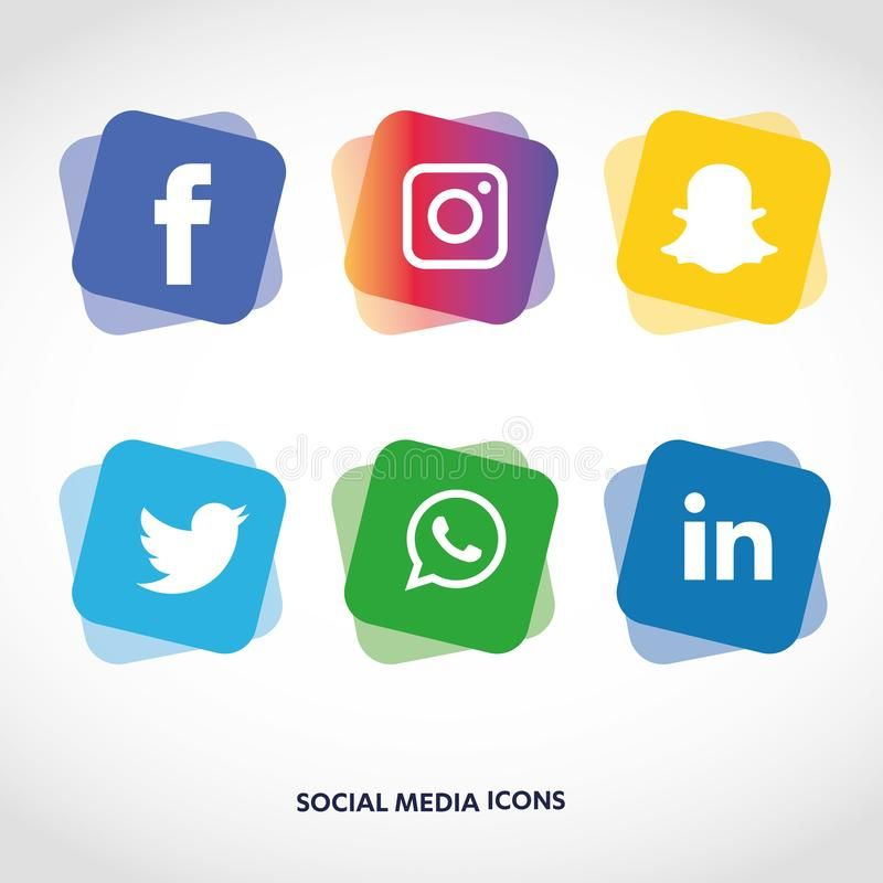 Flat Icons Technology Social Media Network Computer Concept Abstract Backgro Sponsored Advertisement Adver Social Media Icons Media Icon Social Icons