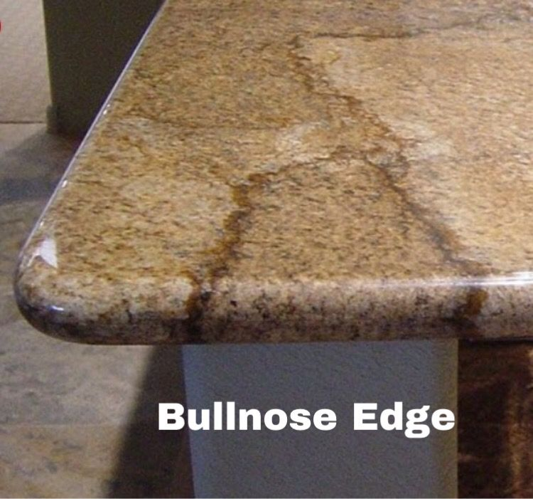 Bullnose Edge Countertop Profile Granite Countertop Edges Edge