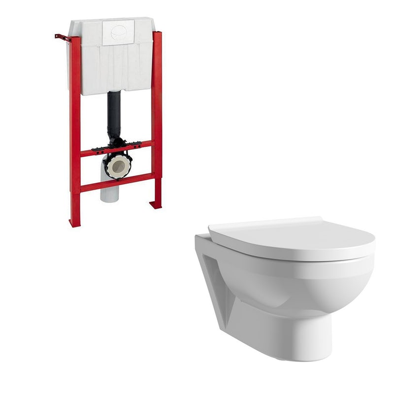 Magnificent Duravit Durastyle Basic Rimless Wall Hung Toilet With Soft Machost Co Dining Chair Design Ideas Machostcouk