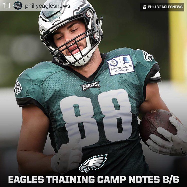Repost From Phillyeaglesnews Toprankrepost Toprankrepost Eagles Training Camp Notes 8 6 1 No Pads Today Lighter Pra One Team Mike Wallace Richard Rodgers