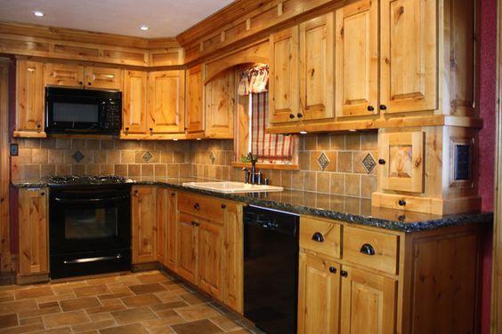 Best Alder Knotty Alder I Alder Kitchen Cabinets Log Home 400 x 300
