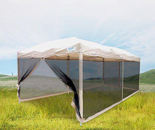 Quictent Ez Tan 10x20 Feet Pop Up Party Tent Canopy Gazebo
