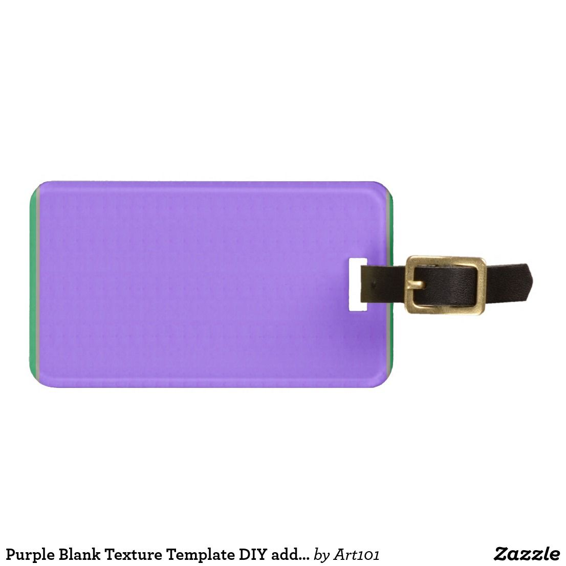 Purple Blank Texture Template Diy Add Text Image Bag Tag