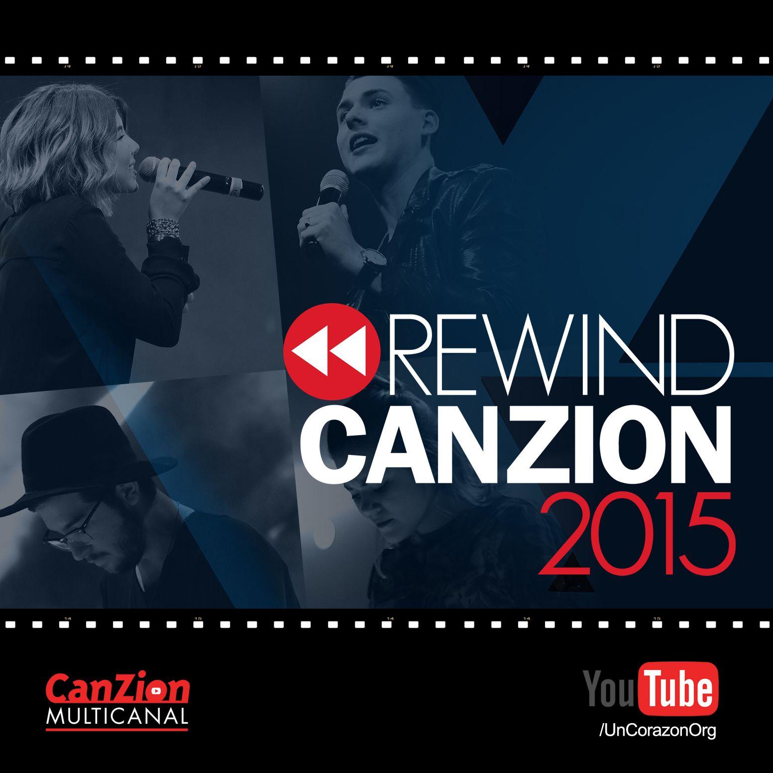 Queremos compartir contigo el lanzamiento del #RewindCanzion2015. En este resumen podrás disfrutar de contenidos #destacados de #UnCorazón y más salmistas por la #RedMulticanalCanZion ➜ http://bit.ly/1jYvILR