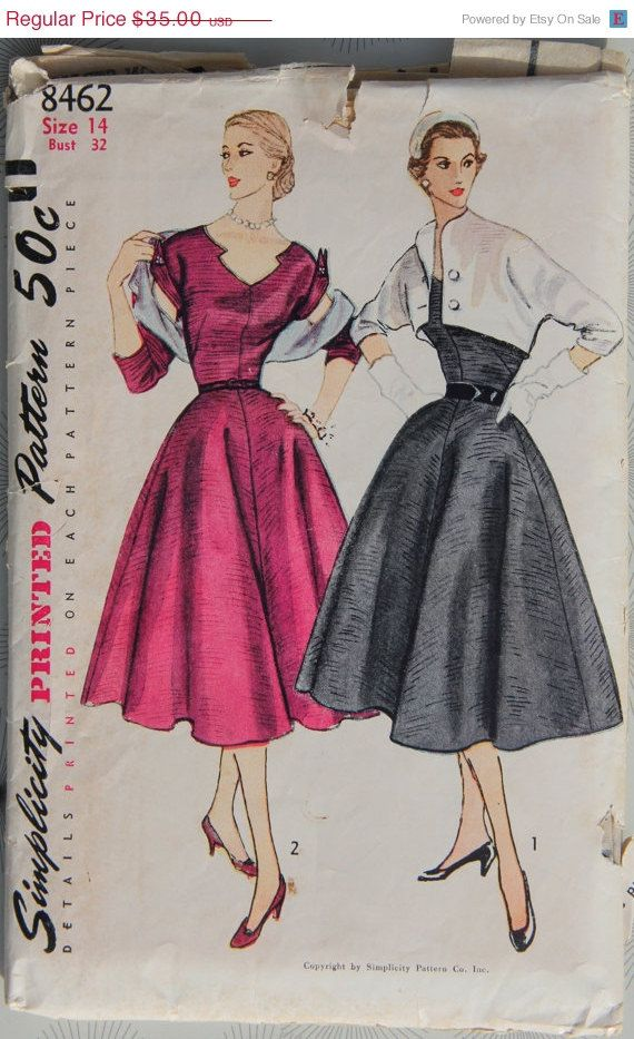 One Year Sale 40s Vintage Simplicity Pattern by GreyDogVintage Mesmerizing Simplicity Patterns On Sale