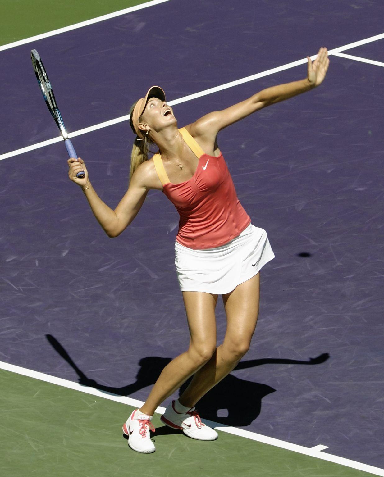 Maria Sharapova at Sony Ericsson Open Tennis 2012