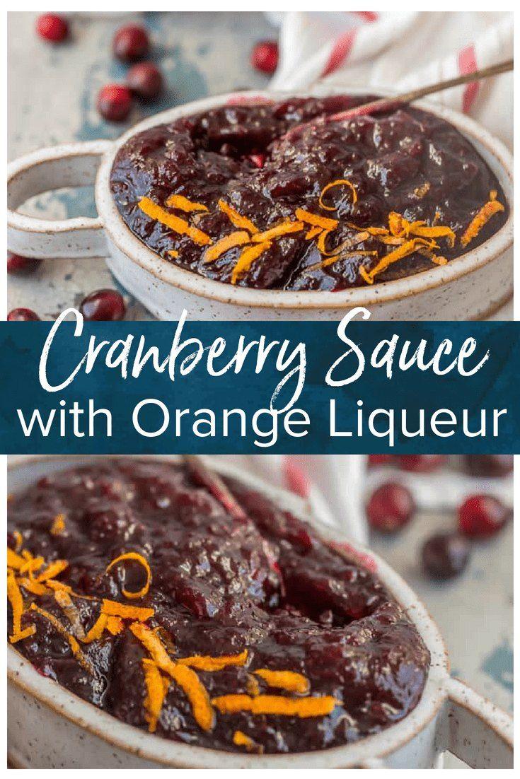 Homemade Cranberry Sauce Recipe with Orange Liqueur {Thanksgiving} – cranberry sauce