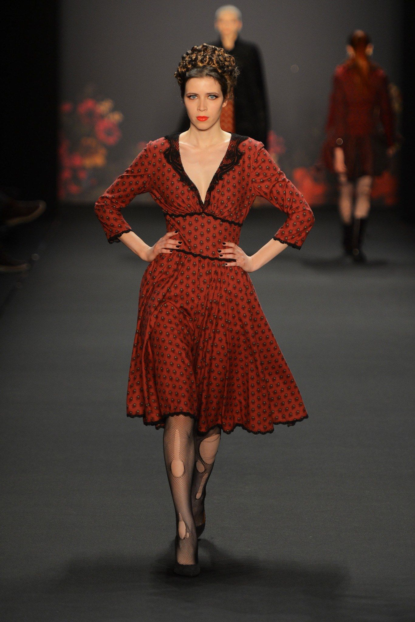 Lena Hoschek Fall 2013 ReadytoWear Fashion Show Berlin