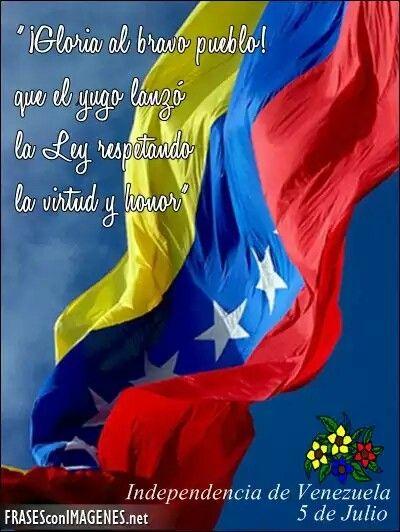 Resultado de imagen para Fotos Venezuela: Día de la Independencia