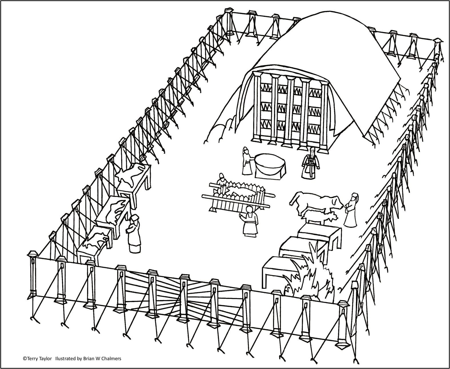 solomon u0027s temple coloring page dcc kindergarten pinterest