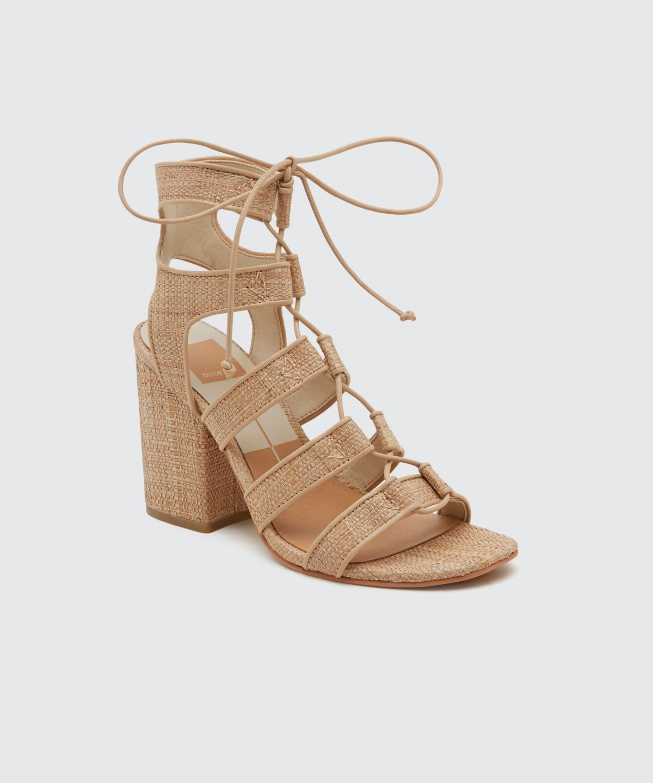 a4f59e9924c5 EVA Lace Up Heels