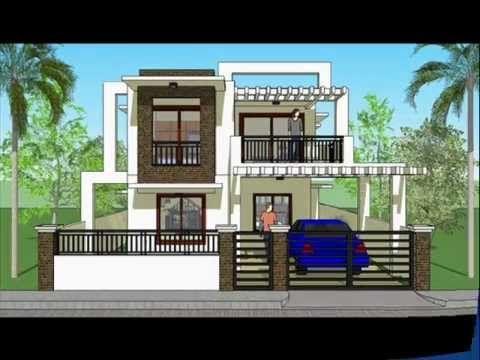 House Plan Designs Modern 2 Storey House Architecture