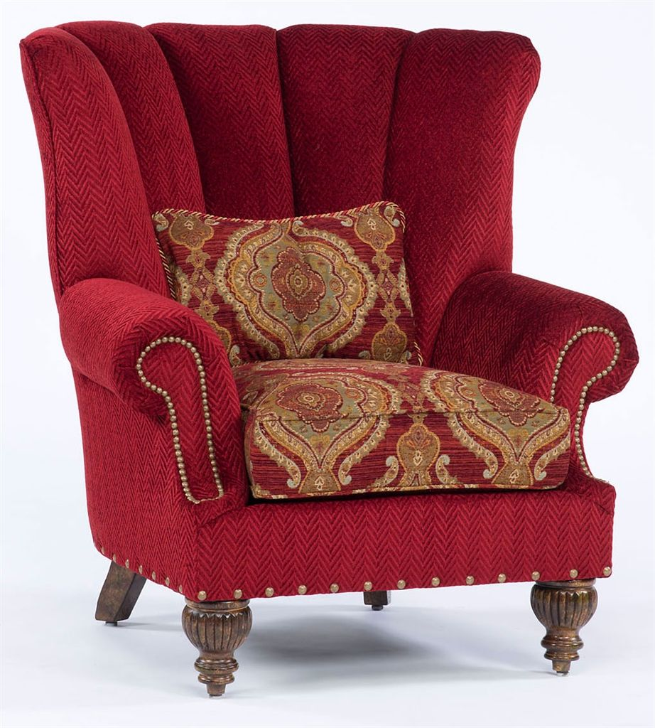 Luxury Red Upholstered Chair Upholstered Chairs Chair