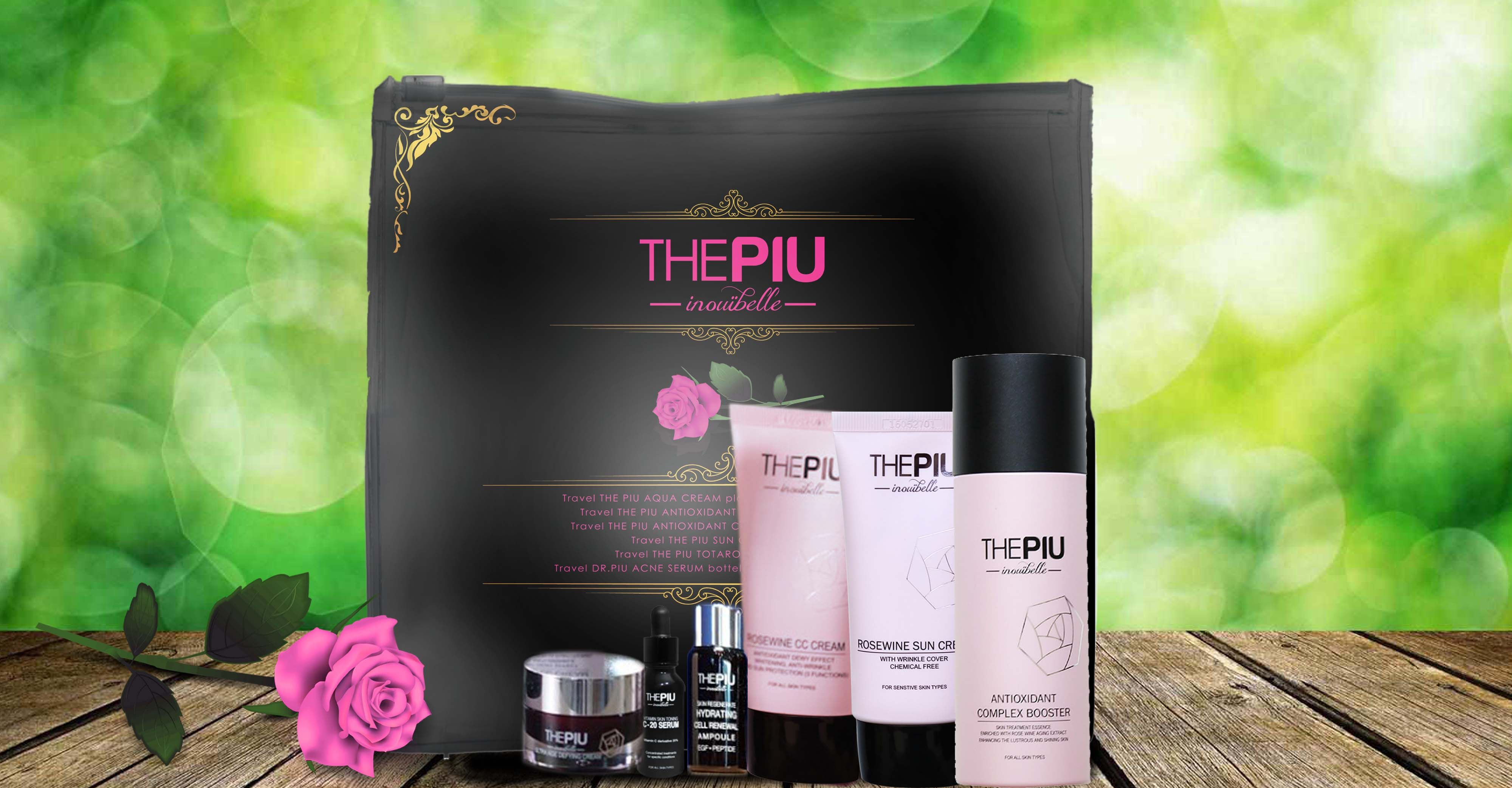 The PIU travel kits! Look for it at a retail cosmetics