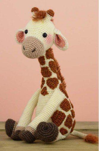 Giraffe häkeln | Handarbeiten | Pinterest | Häkeln, Häkeln muster ...